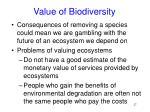 value of biodiversity27