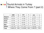 tourist arrivals in turkey where they come from part 2