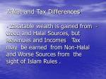 zakat and tax differences15