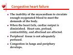 congestive heart failure11