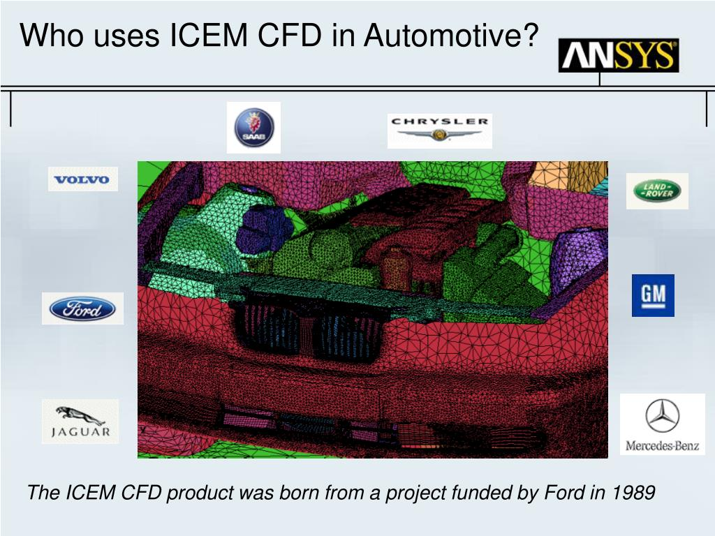 PPT - ICEM CFD in Aerospace Industry PowerPoint Presentation