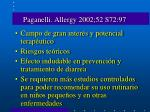 paganelli allergy 2002 52 s72 97