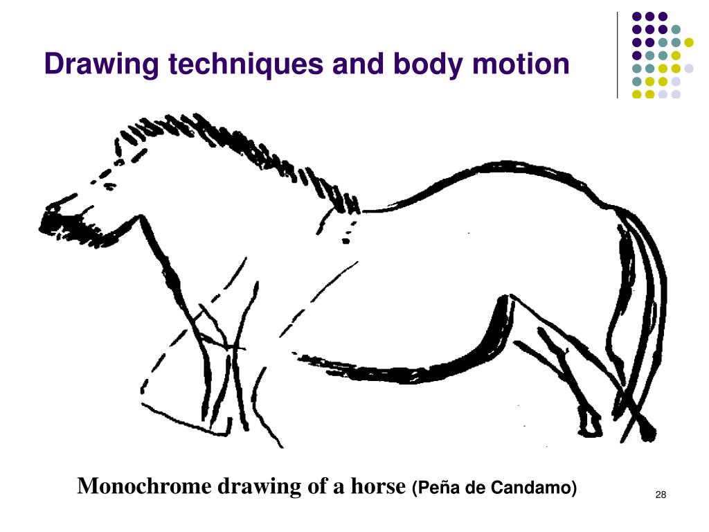 Drawing techniques and body motion