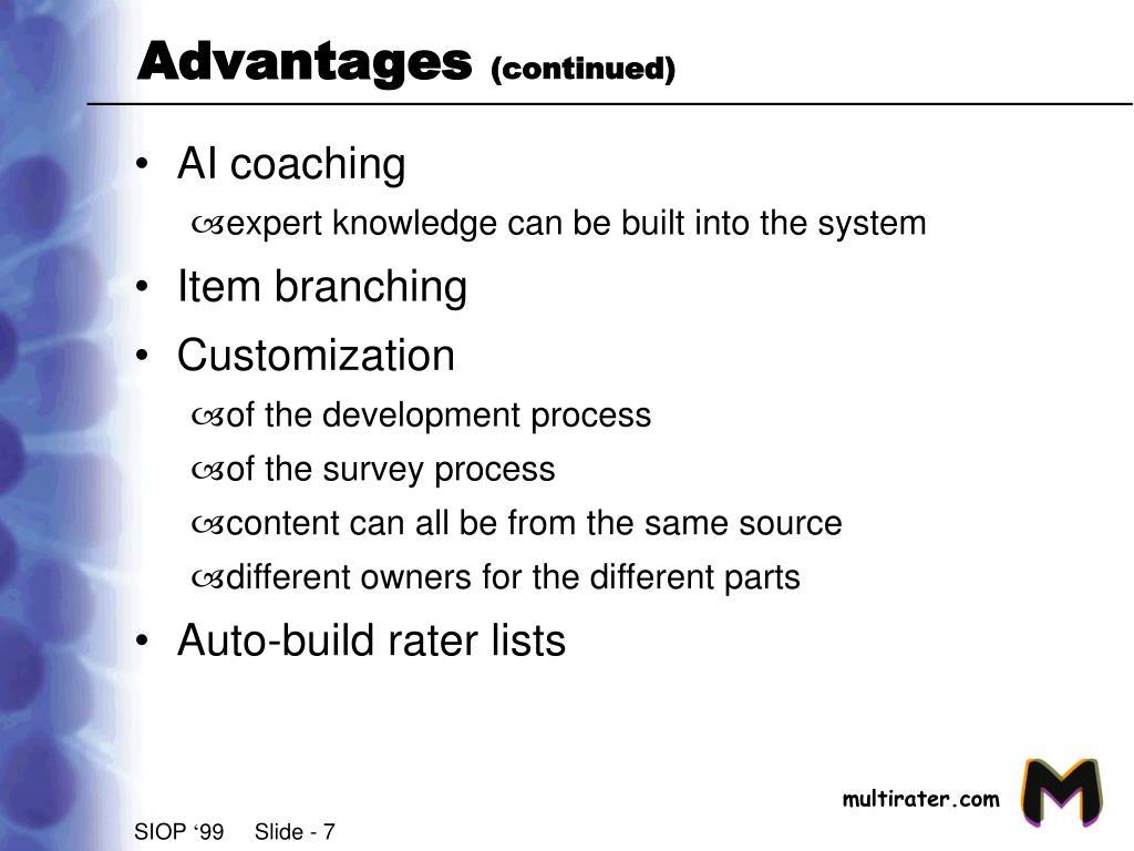 AI coaching