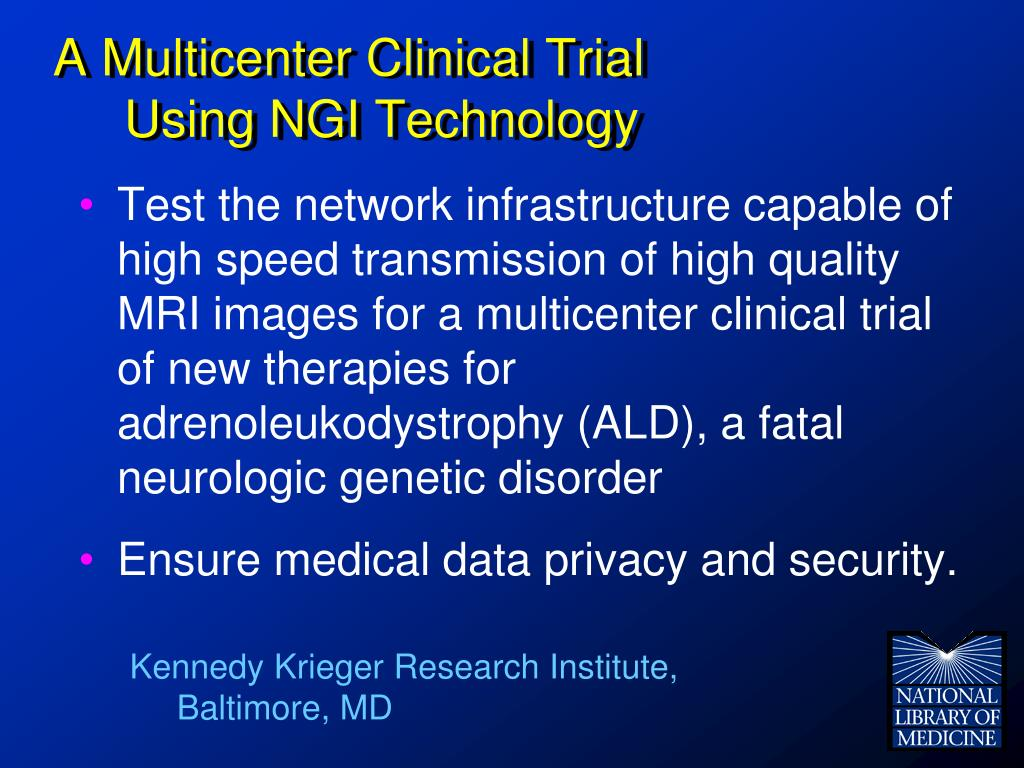 A Multicenter Clinical Trial