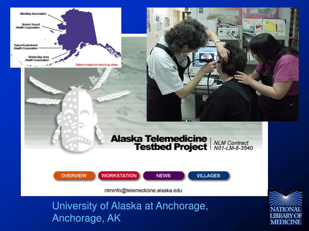 University of Alaska at Anchorage, Anchorage, AK