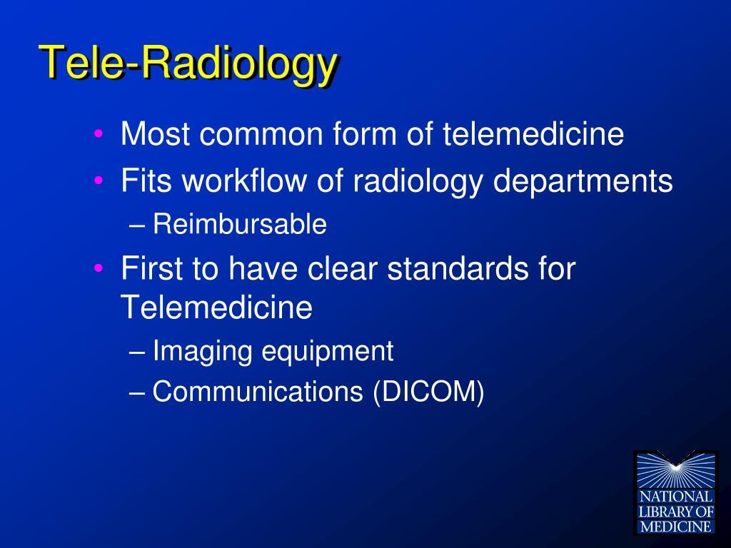 Tele-Radiology