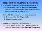 national ghg inventory reporting