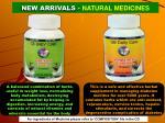 new arrivals natural medicines