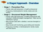 a staged approach overview