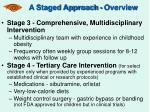 a staged approach overview31