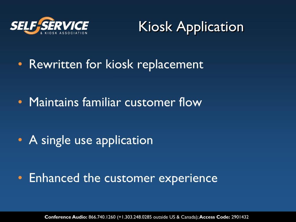 Kiosk Application