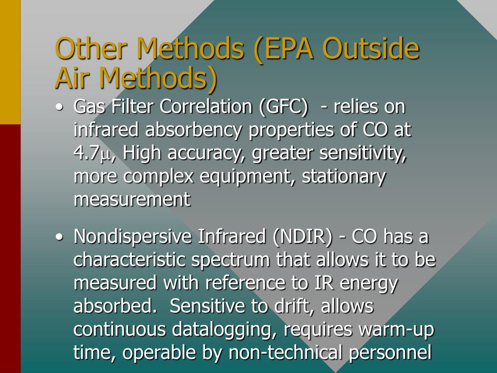 Other Methods (EPA Outside Air Methods)