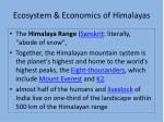 ecosystem economics of himalayas13