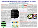 application of satellite altimetry to tropical climate modeling and prediction