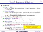 chap 7 counters and registers