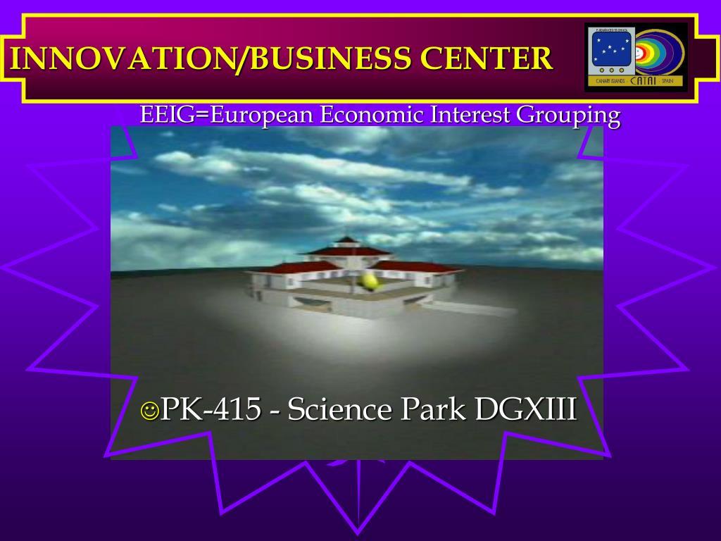 innovation business center l.