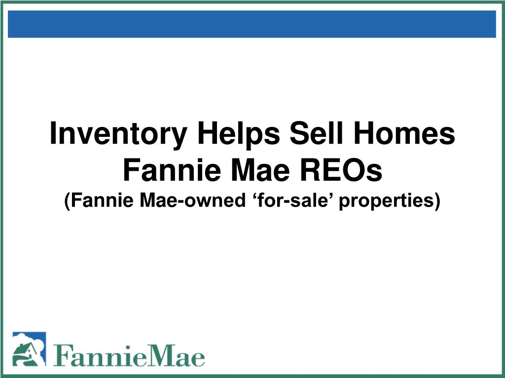 Inventory Helps Sell Homes