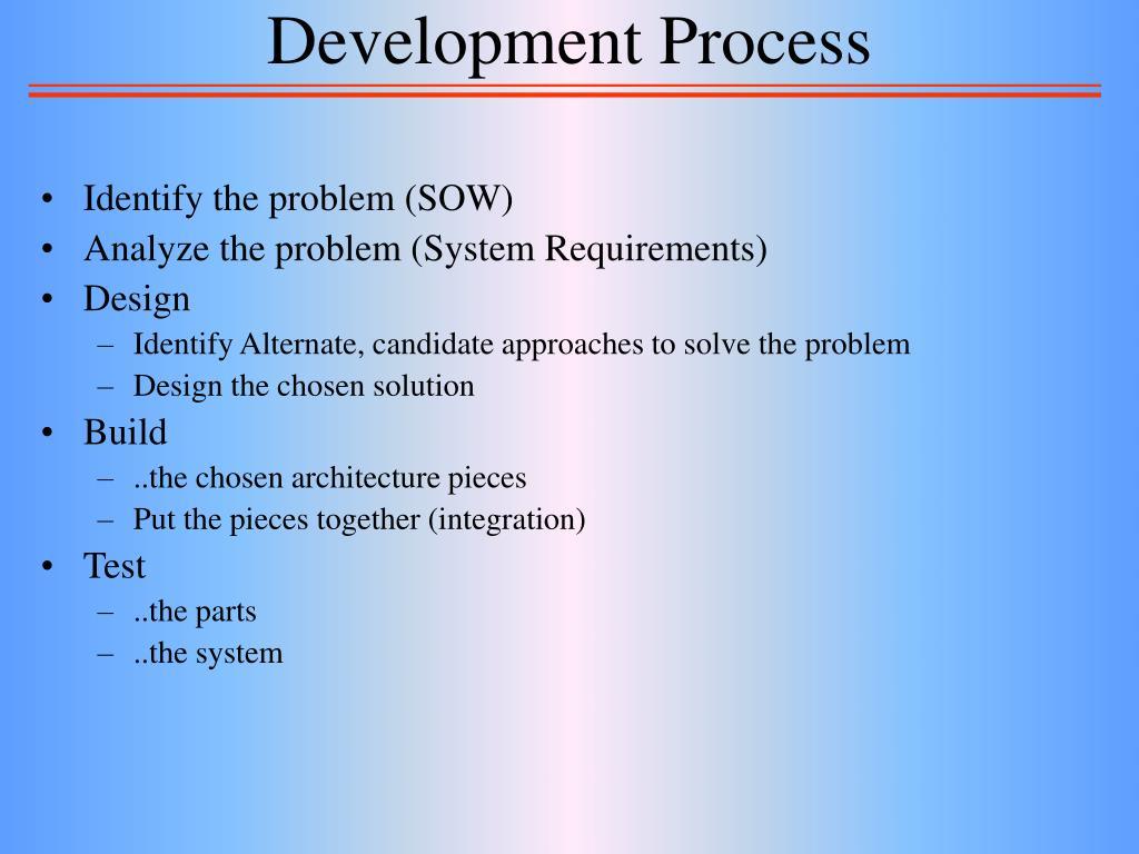 Development Process