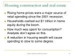 housing construction and real estate14