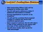 contract evaluation process