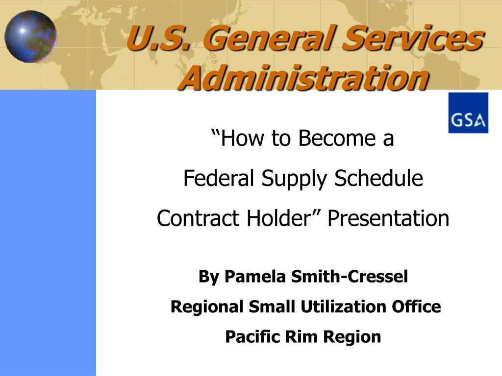 u s general services administration l.