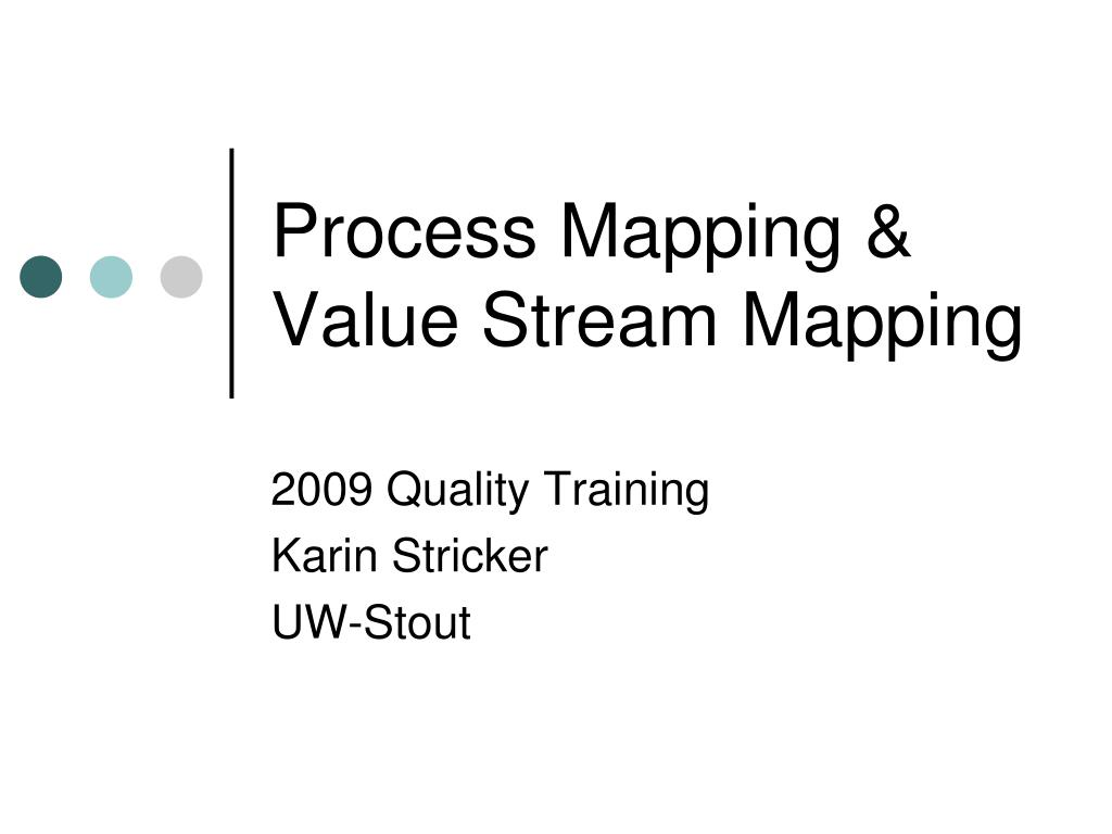 process mapping value stream mapping l.