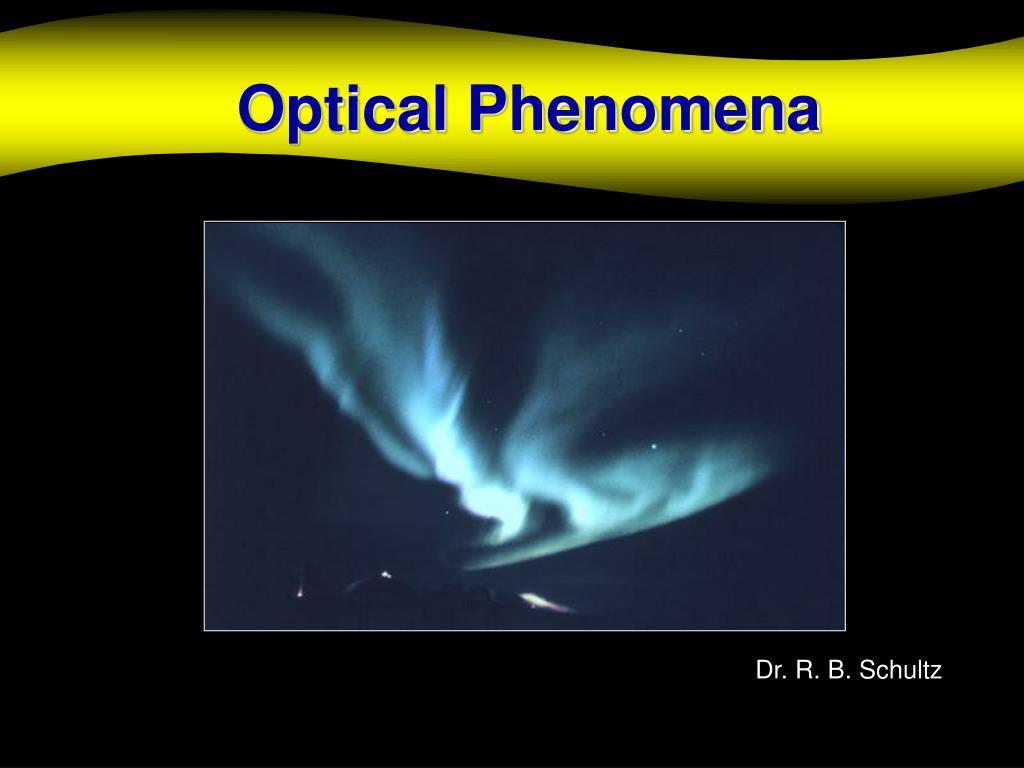 optical phenomena l.