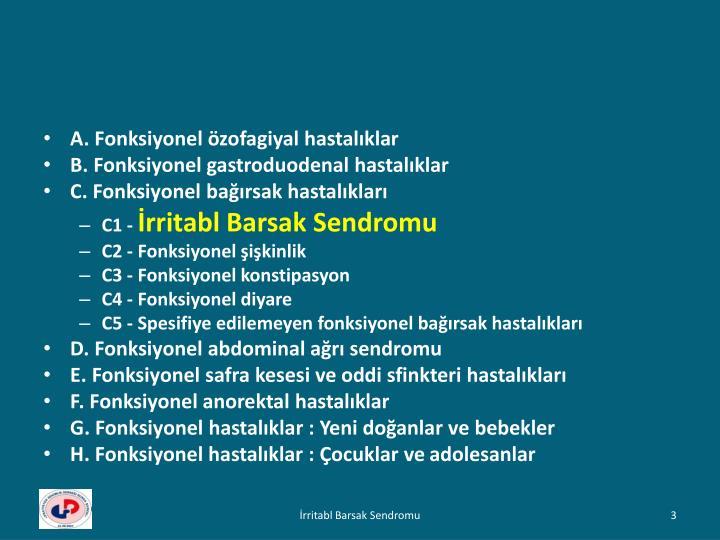A. Fonksiyonel