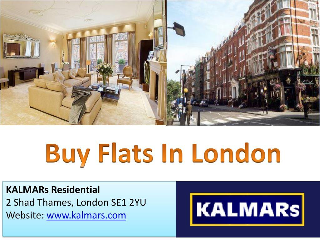 Buy Flats In London