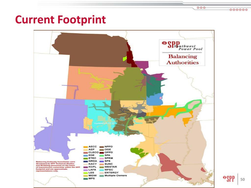 Current Footprint