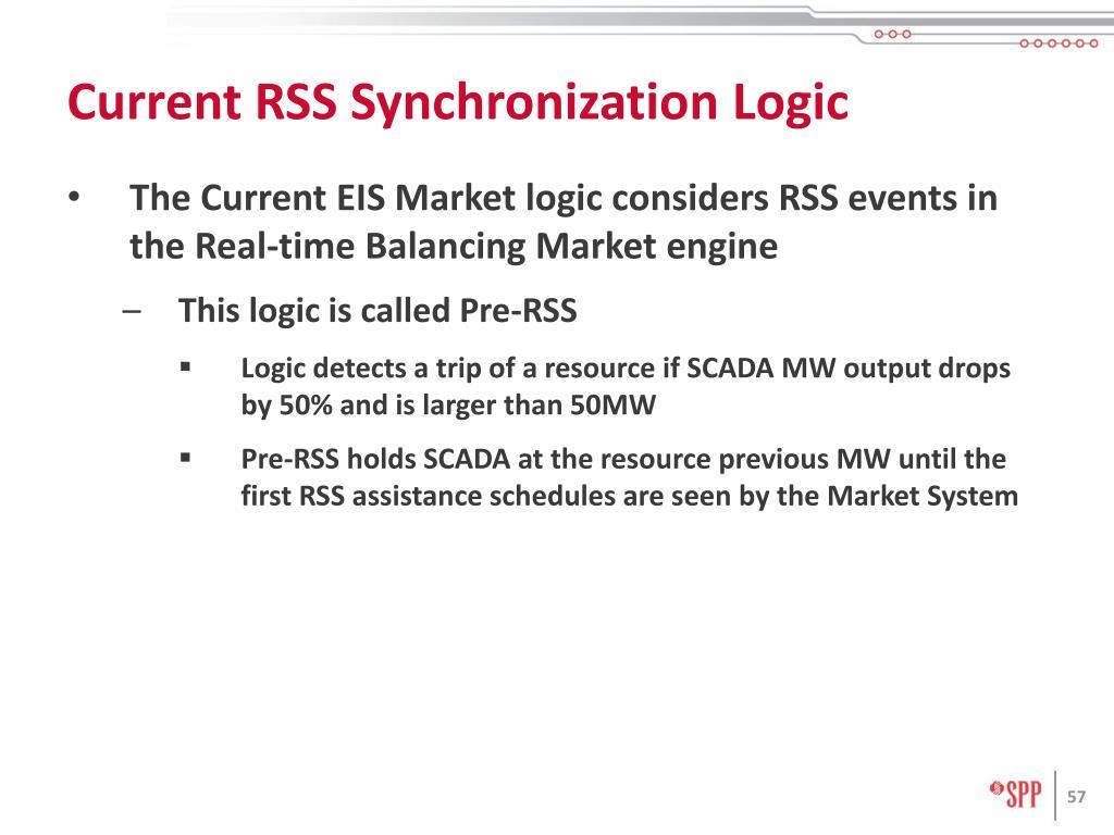 Current RSS Synchronization Logic
