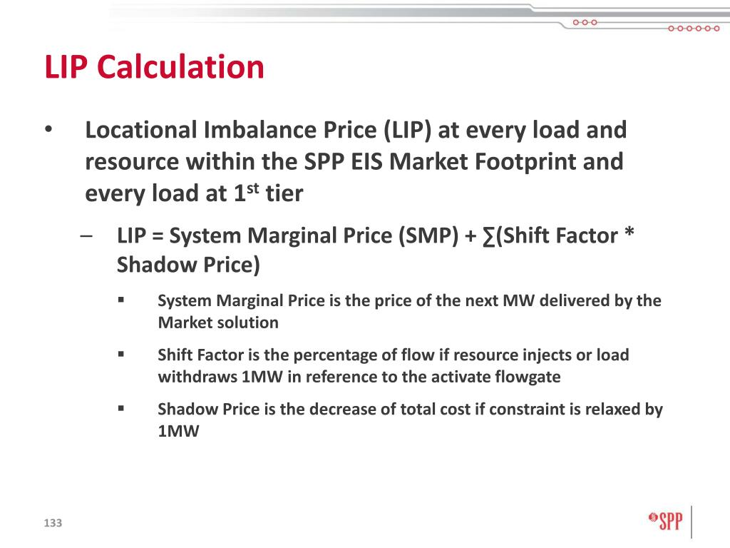 LIP Calculation