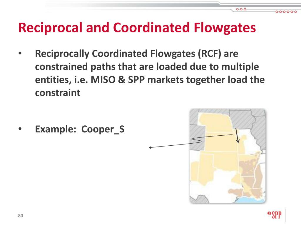 Reciprocal and Coordinated Flowgates
