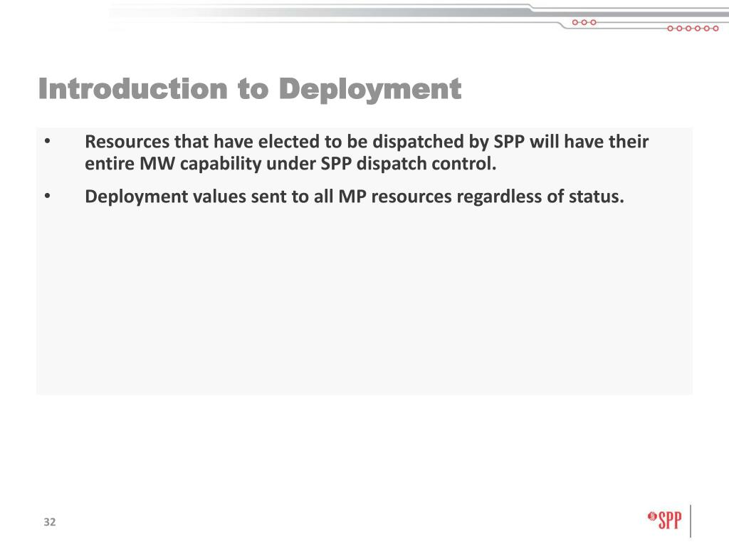 Introduction to Deployment