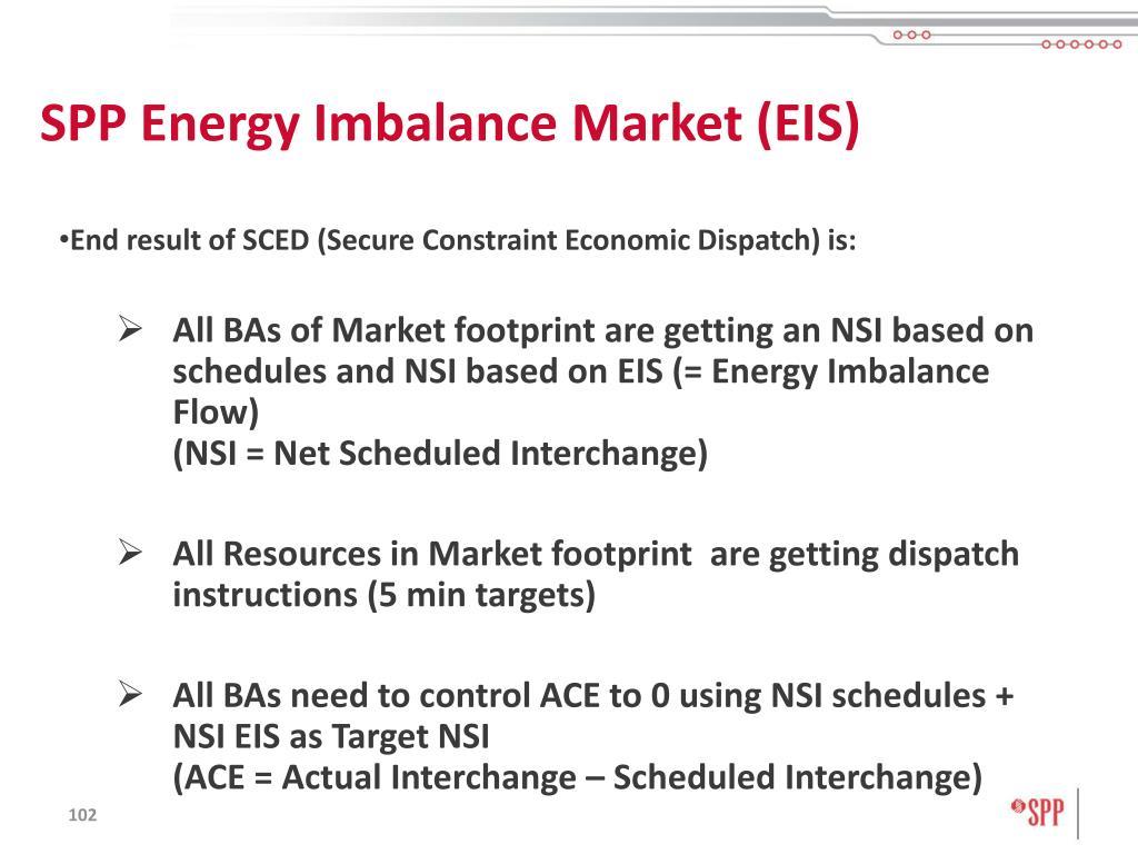 SPP Energy Imbalance Market (EIS)