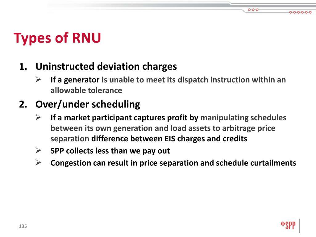 Types of RNU