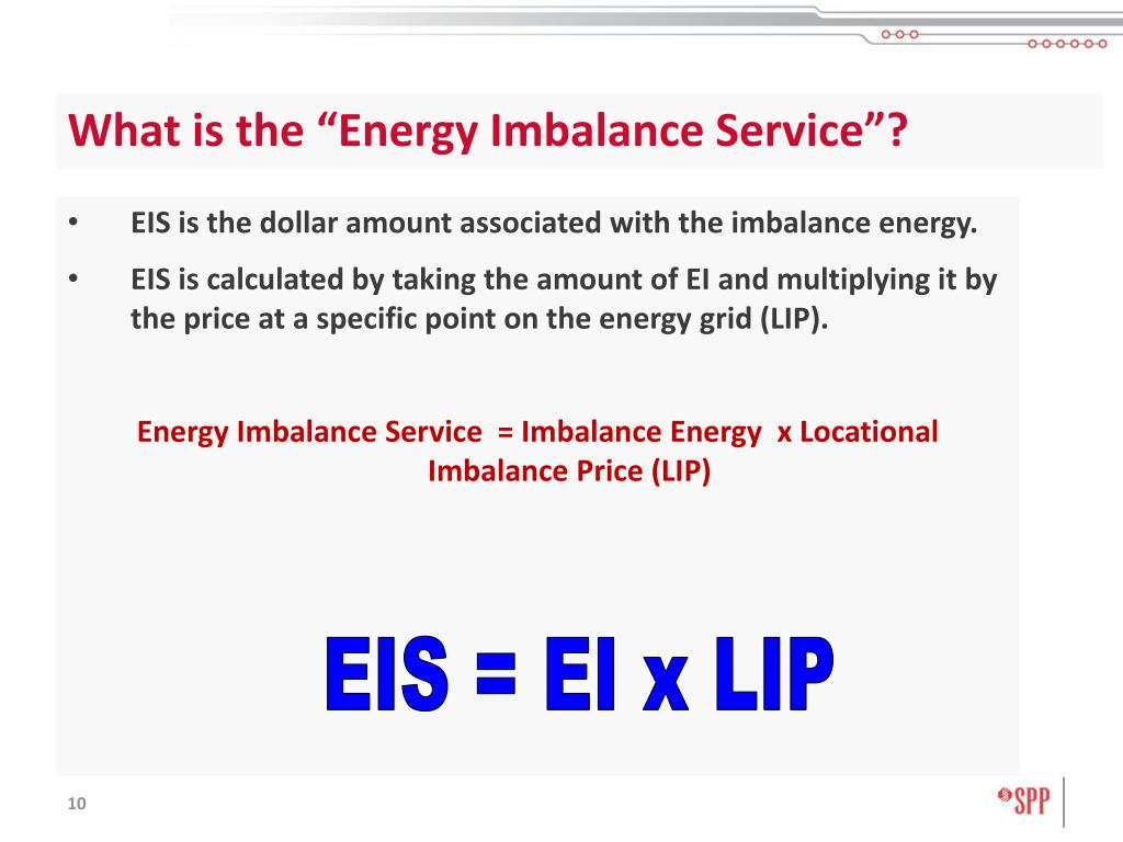 """What is the """"Energy Imbalance Service""""?"""