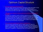 optimum capital structure25