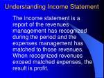 understanding income statement