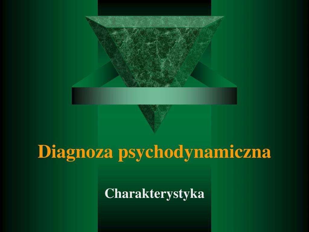 Diagnoza psychodynamiczna