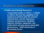 responsive and responsible3