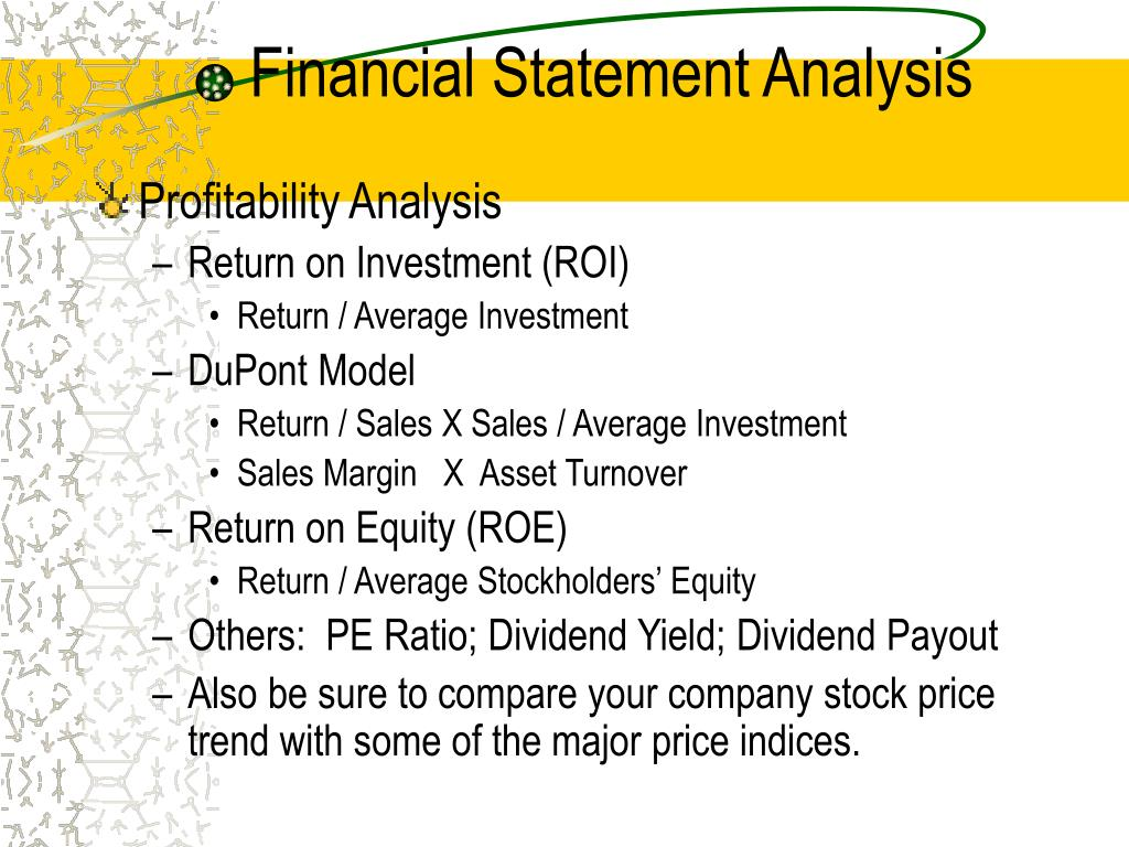 financial statement analysis of cipla 220 chapter 7 introduction to financial statement analysis 1 understand the purpose and content of three principal financial statements and related notes.