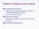 methods of equity security analysis