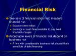 financial risk50