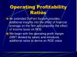 operating profitability ratios40