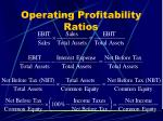 operating profitability ratios44