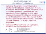 financial analysis calculation of residual value39