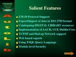 salient features8