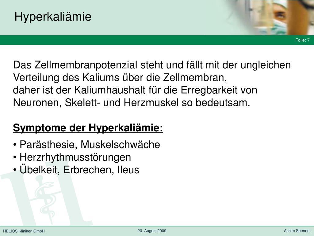 Hyperkaliämie